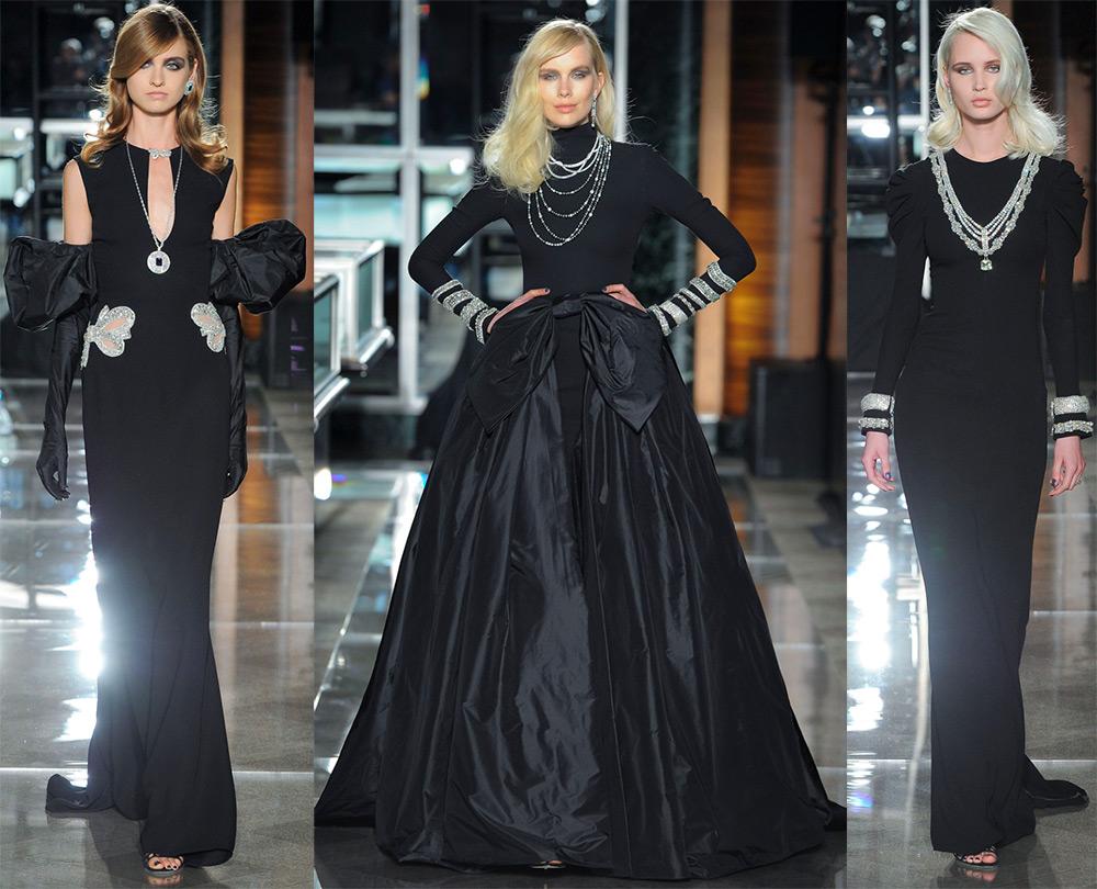 Черные свадебные платья 2018