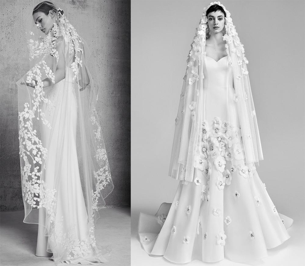 Красивая фата для невесты