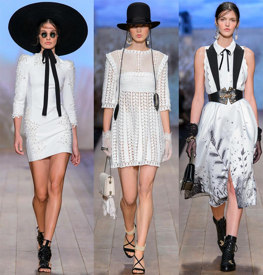 Модные образы Elisabetta Franchi