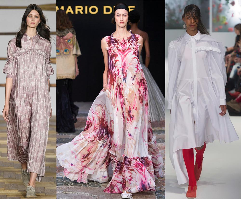 b2652f0c036 Платья весна-лето 2018 – модные тенденции и новинки