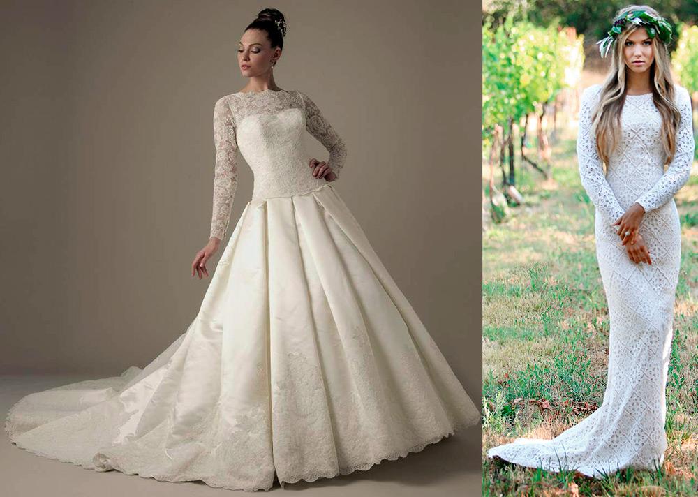 Подвенечные платья для венчания православной невесты