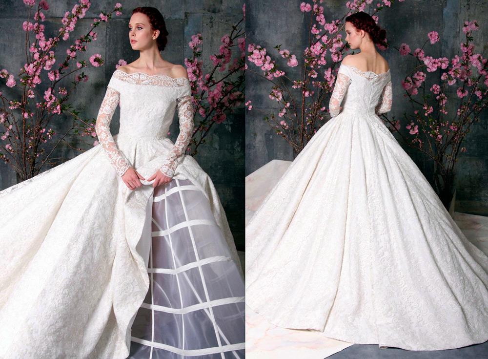 8892f1ea9fc Пышные свадебные платья – 9 оригинальных моделей