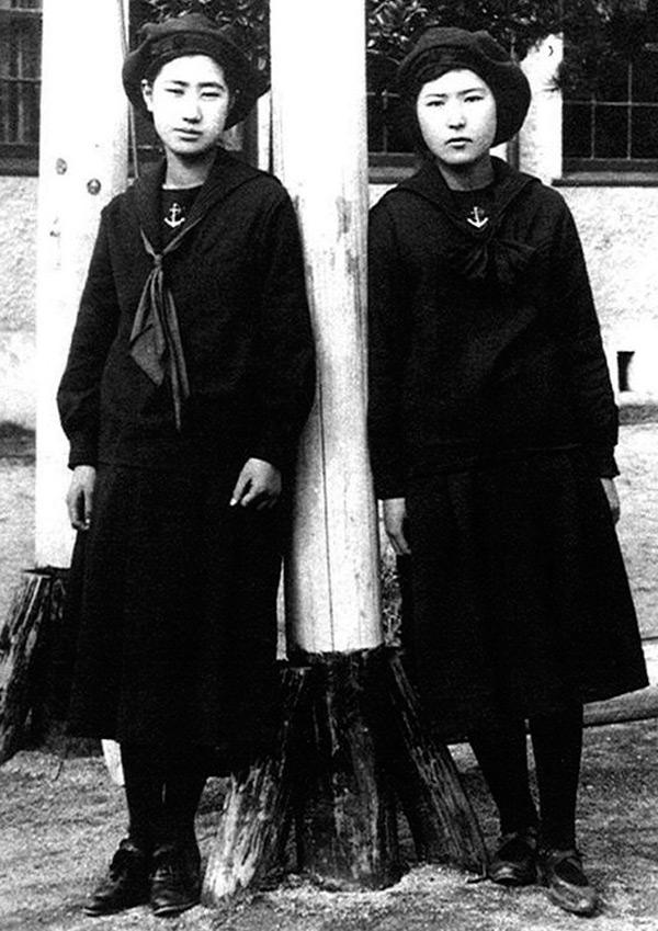 Японские девушки и женщины – фото 1920 годов