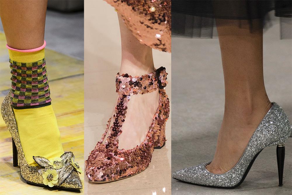 Красивые туфли 2018