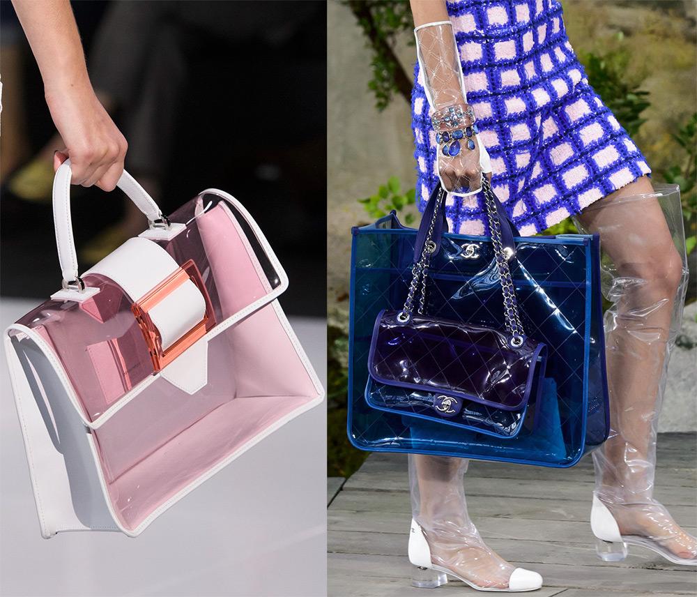 Пластиковые прозрачные сумки