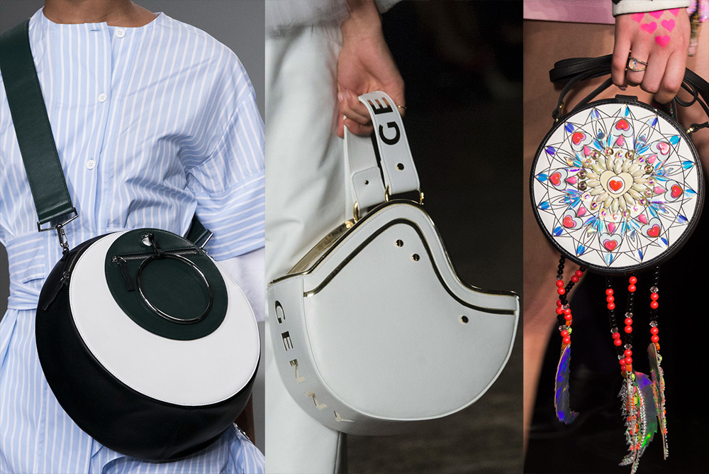 Круглые сумки для девушек