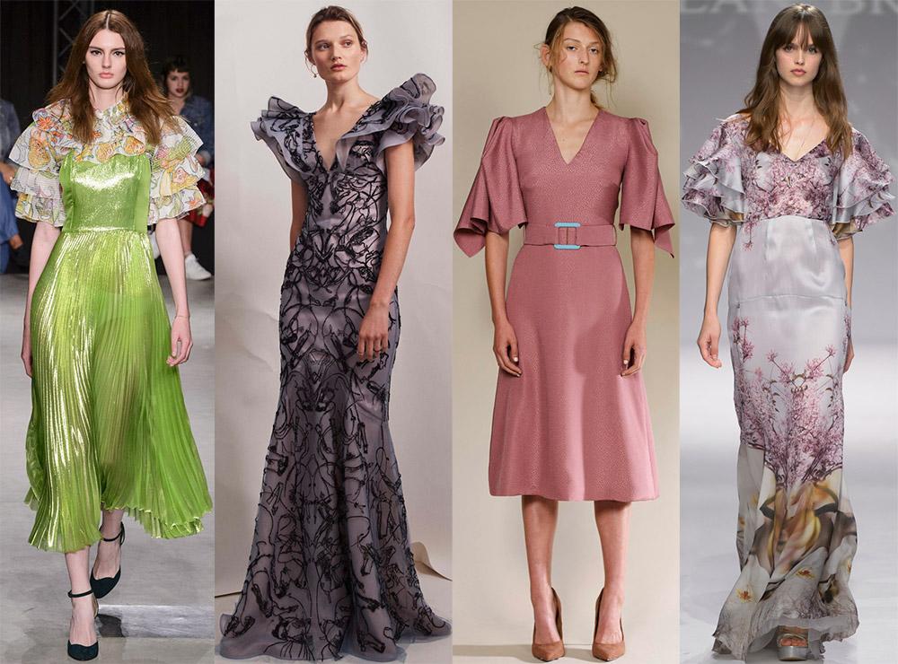 объемные рукава на блузках и платьях