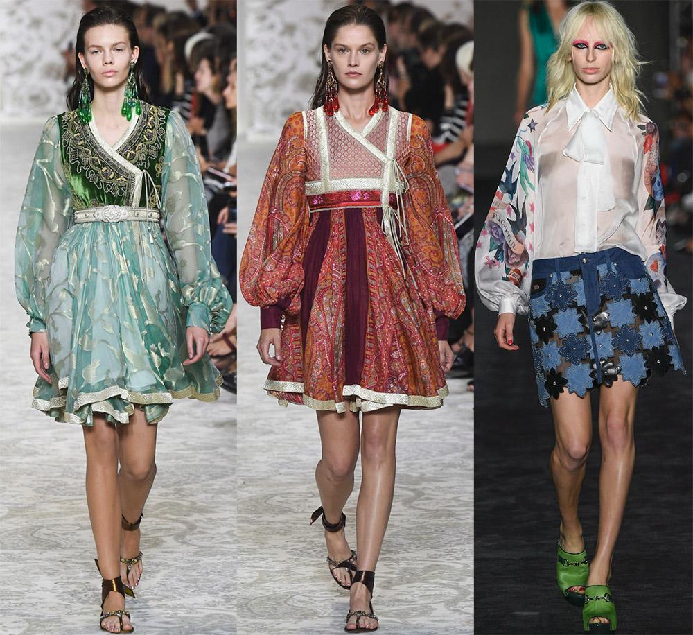 Пышные объемные рукава – модная тенденция