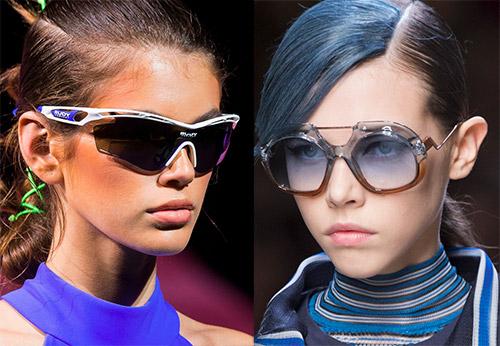 47dbdd1f9a49 Главные модные тенденции сезона весна-лето 2018 года. Какие солнцезащитные  очки ...