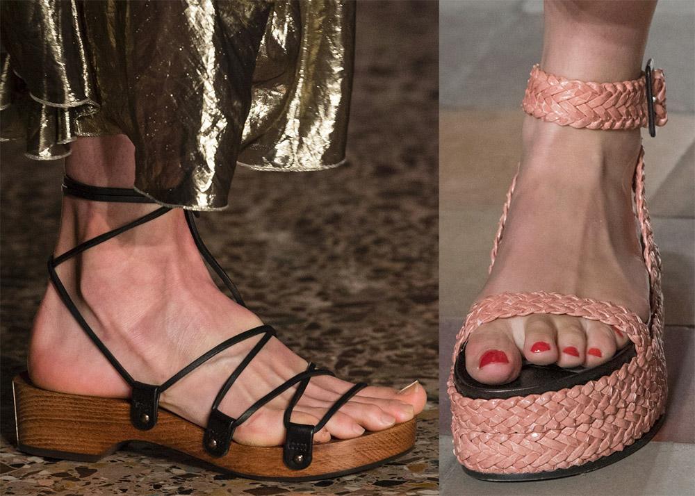 Модные женские сандалии