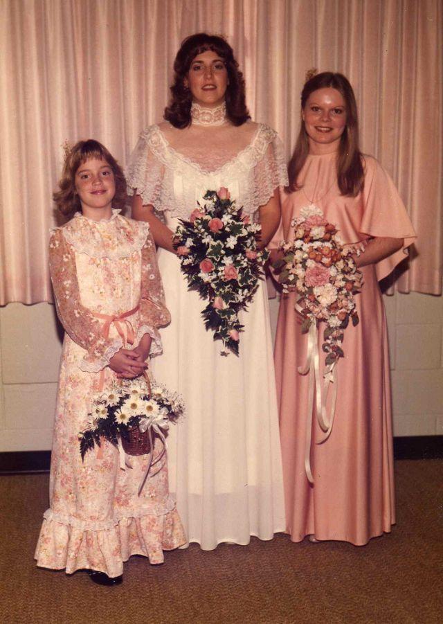 Свадебная мода 1970