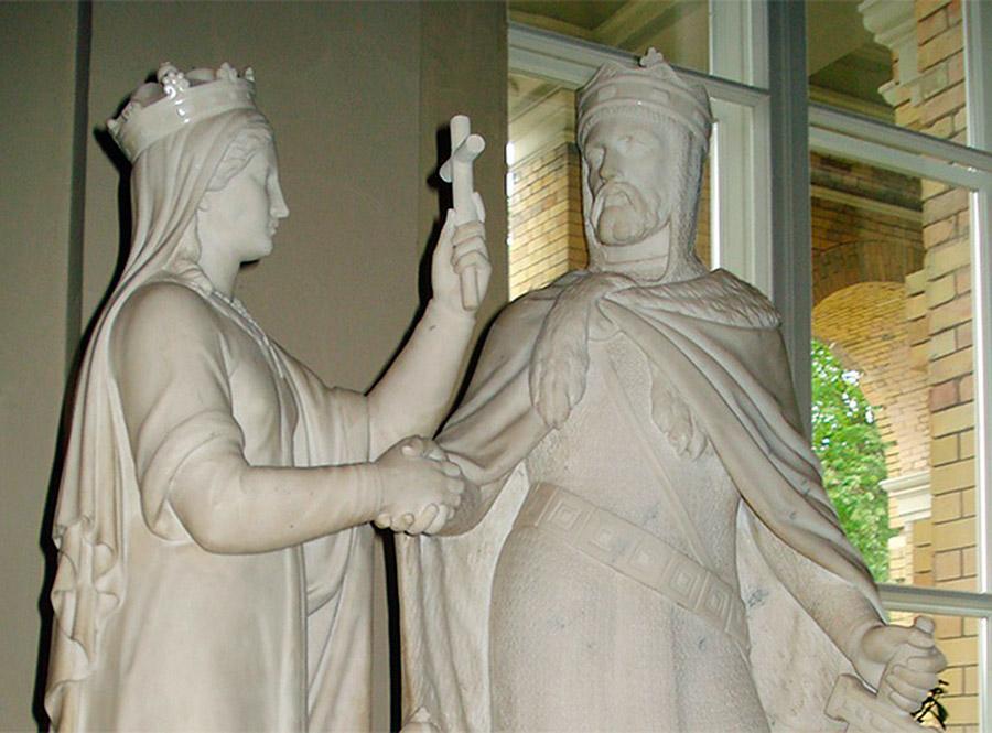 Средневековые свадебные платья и свадебный обряд в Лиде