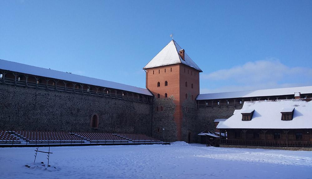 Восстановленный Средневековый замок