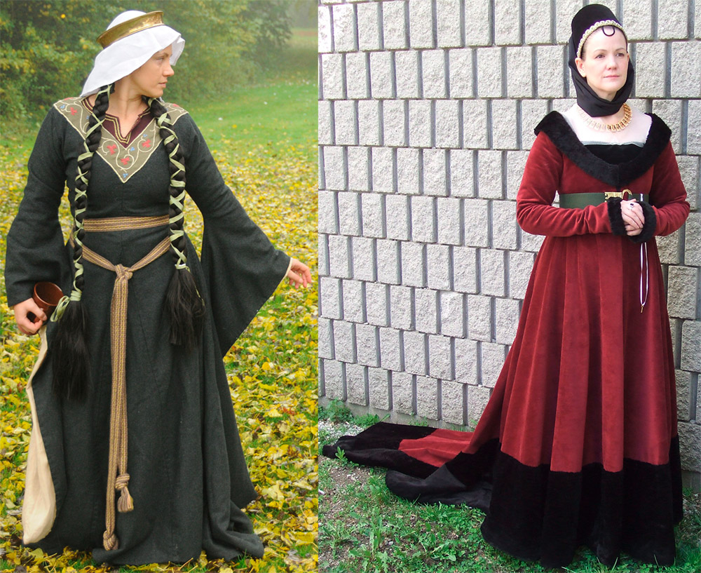 Платье реконструкция