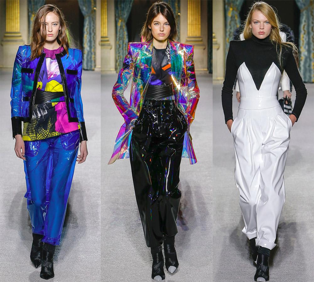 Модная одежда из ПВХ