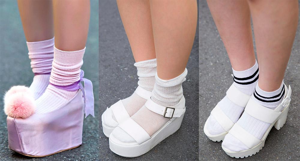 Носочки для девушек