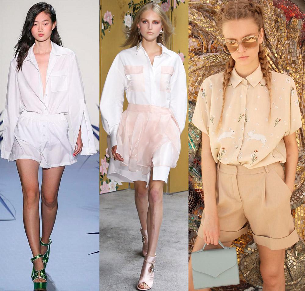 15496e33c340234 Блузки-рубашки 2018 – фото и модные тенденции