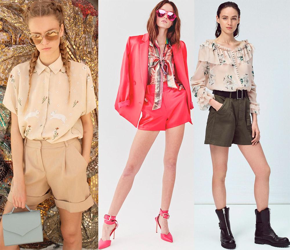 Шорты 2019 – модные образы
