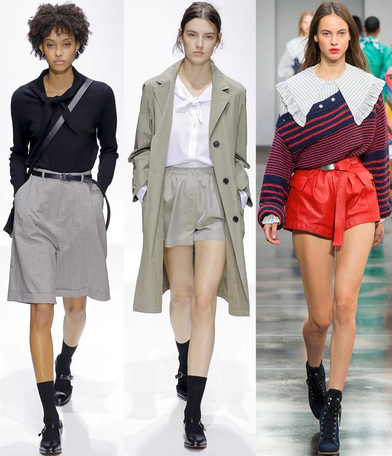 Длинные и короткие шорты