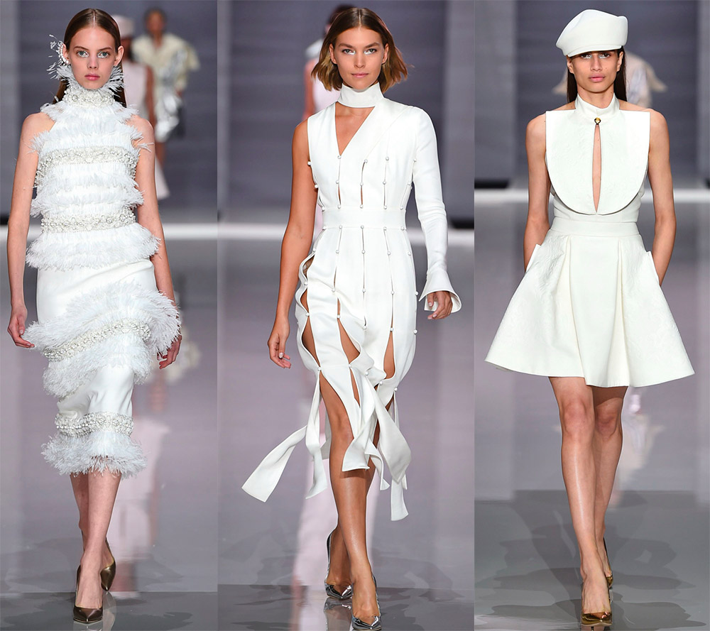 Шикарные белые платья