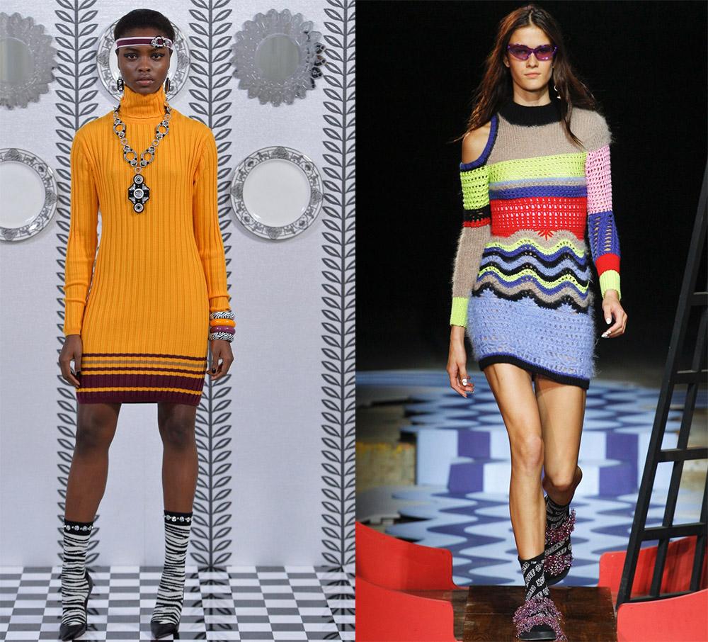 Трикотажные изделия и модные тенденции 2018 года