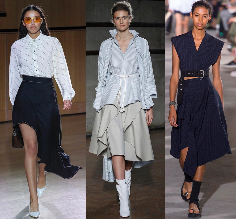 Асимметричные юбки