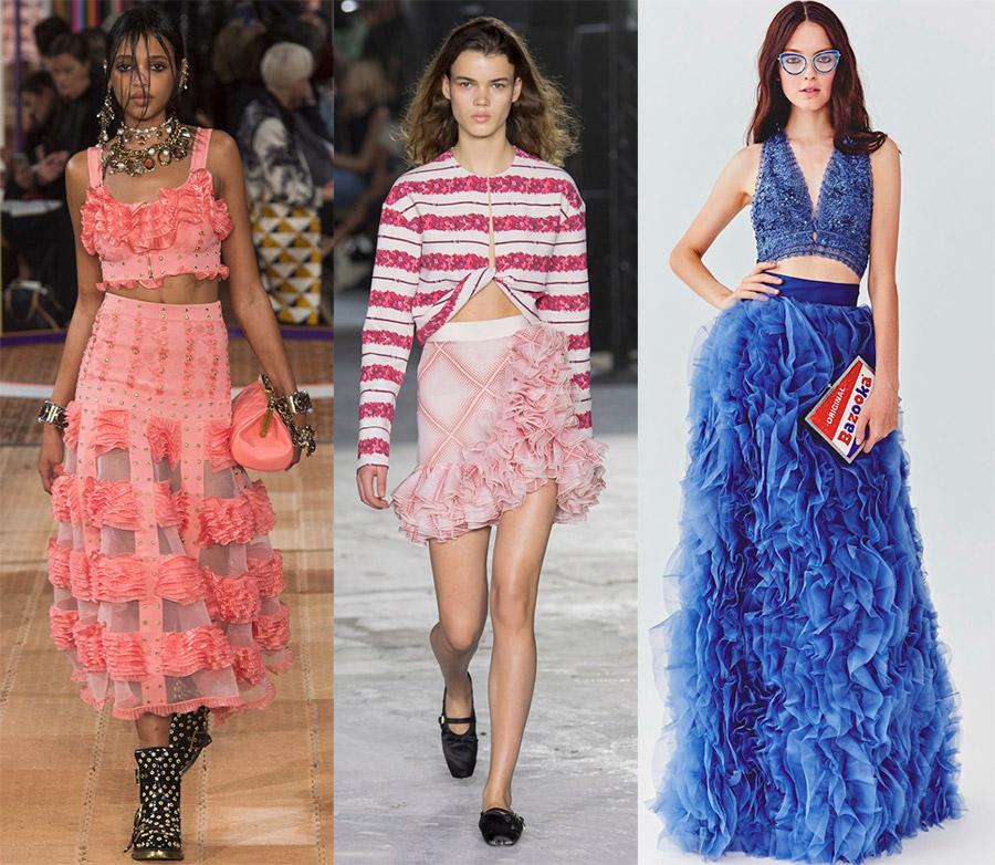 Модные и красивые юбки