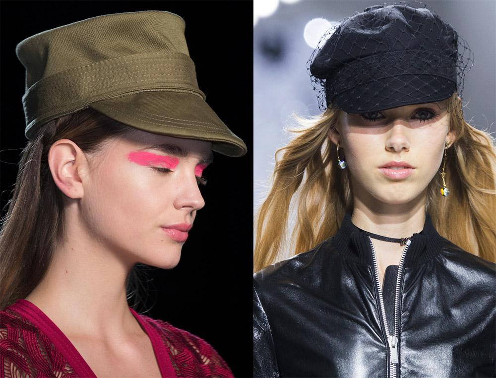 Женские кепки 2018
