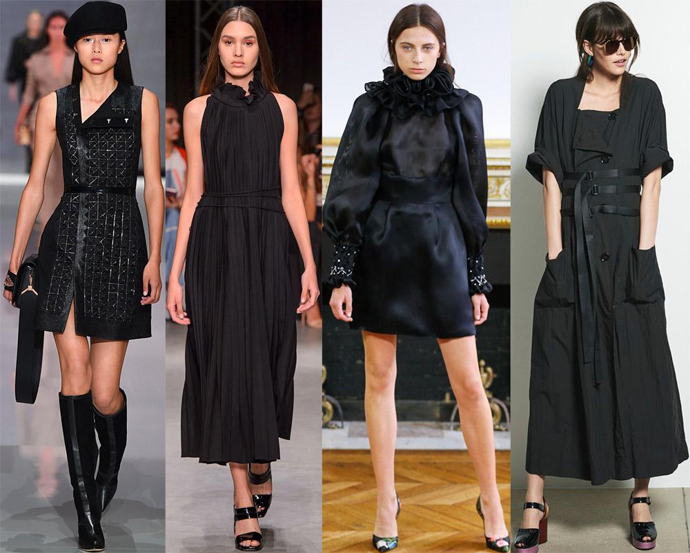 4d08c1f3a597 Черные платья 2018 – лучшие короткие и длинные модели сезона