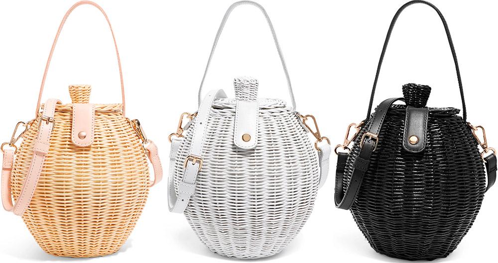 8878c404cf87 Соломенные и плетеные сумки – модная тенденция