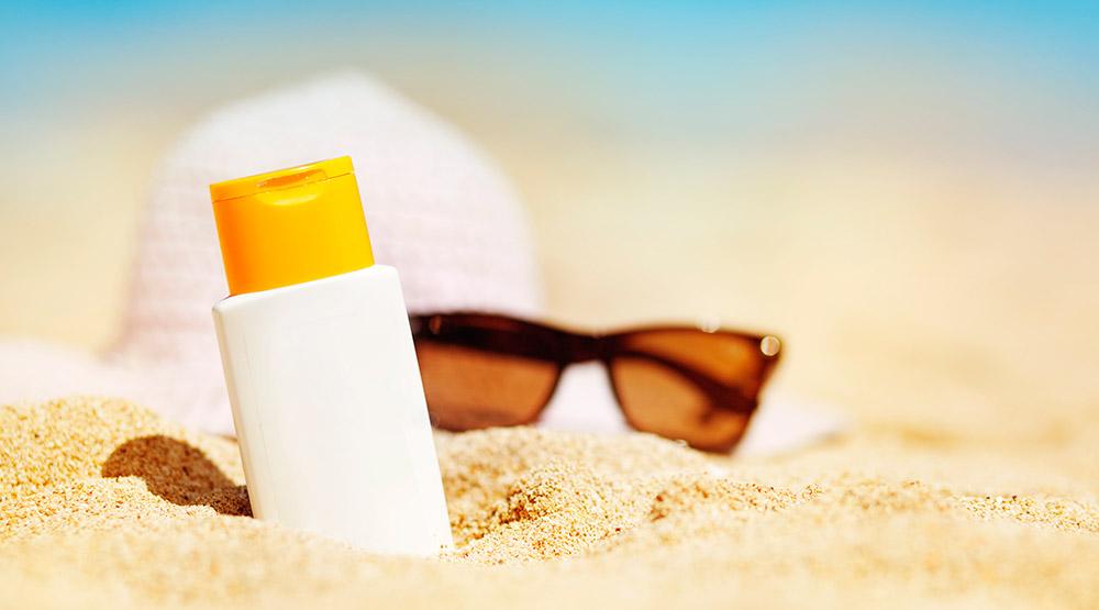 солнцезащитные средства для кожи лица и тела