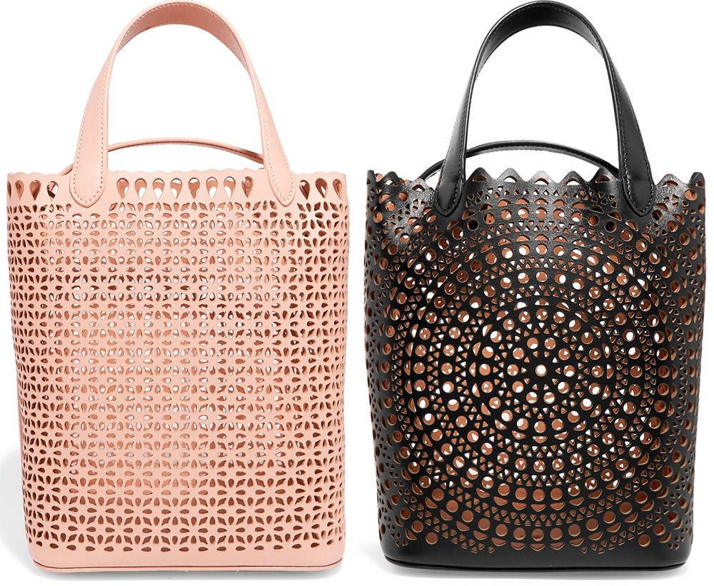 Кожаные сумки с перфорацией – лучшие модели