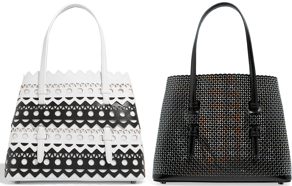 Женские сумки с перфорацией