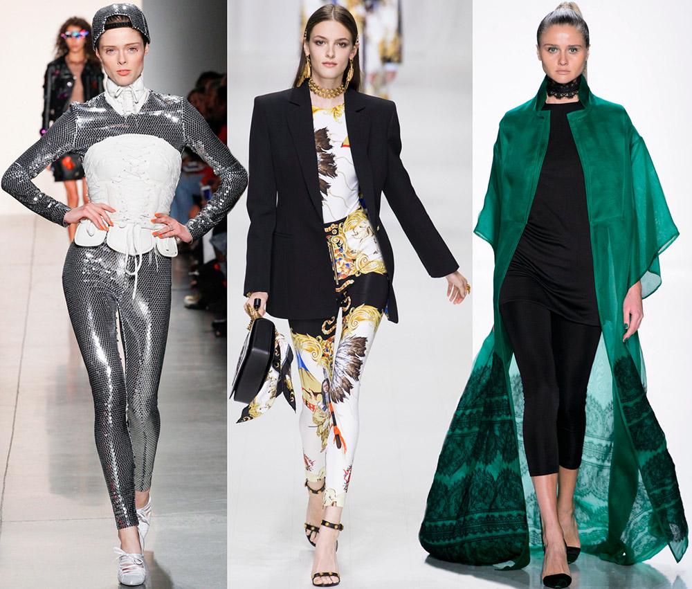 Модные леггинсы 2018