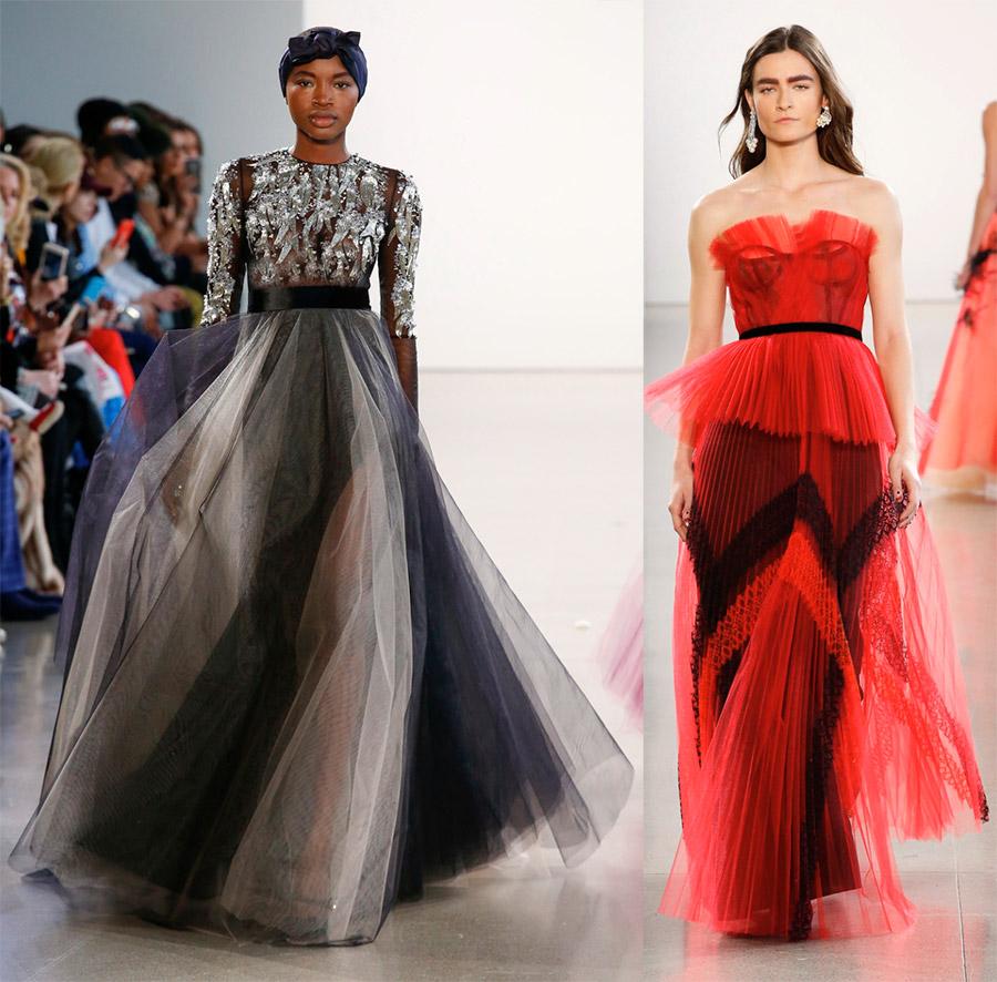 Модные тенденции 2018-2019 – градиент на одежде