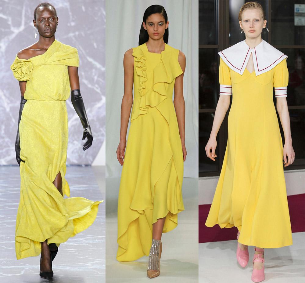 Модные цвета в одежде 2018-2019