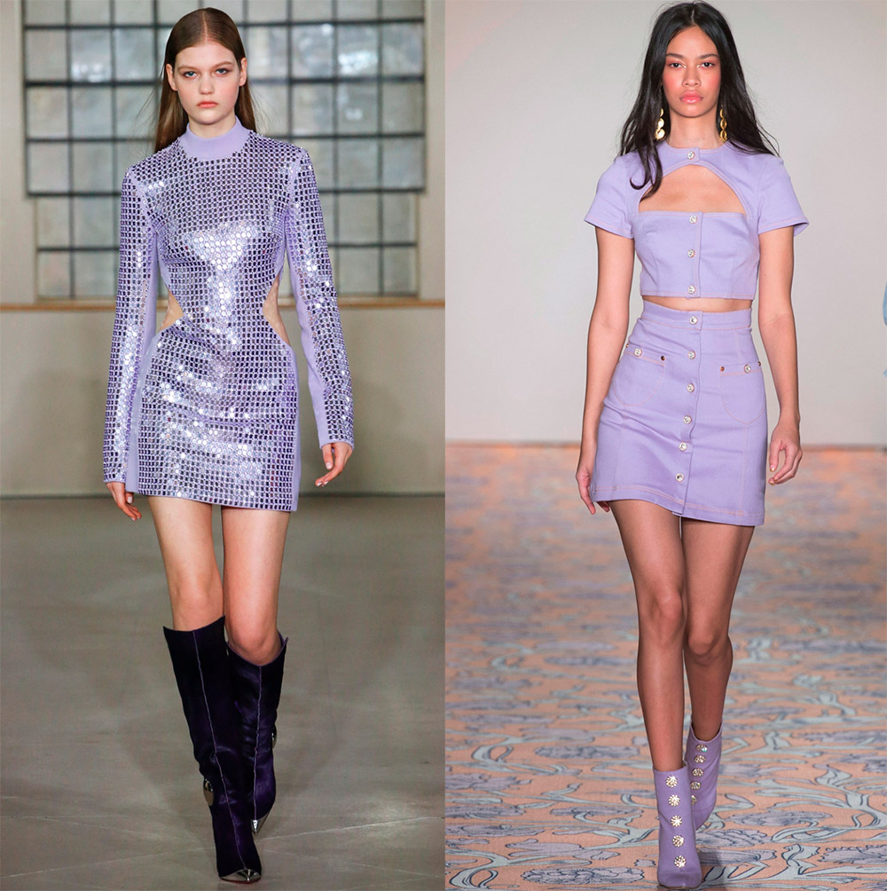 Модные цвета 2018-2019