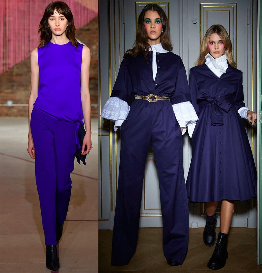Модные цвета следующего года