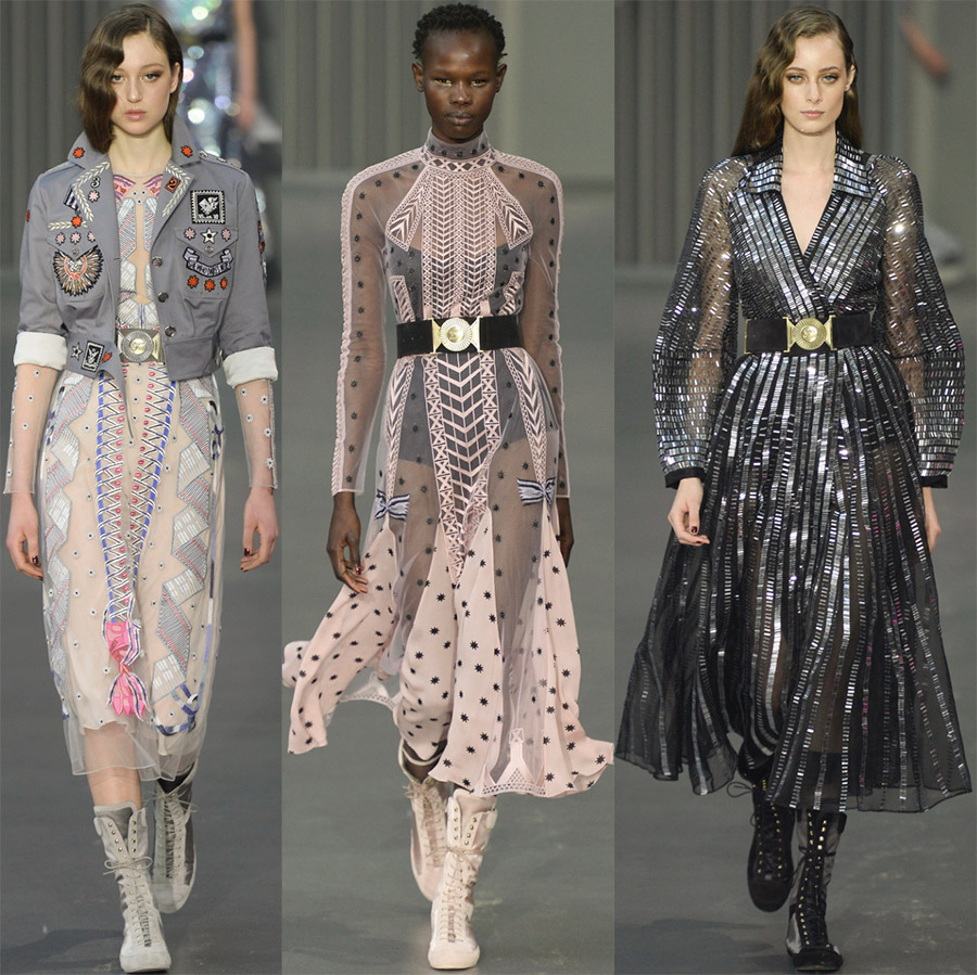 Модные тенденции от Temperley London
