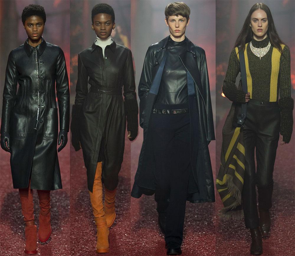 Мода осень-зима 2018-2019 от Hermes