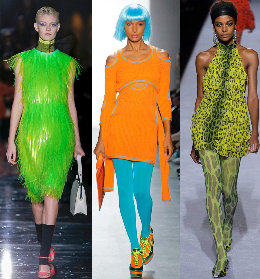 Pakaian neon 2018-2019