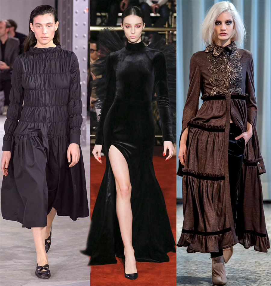 Robes à la mode 2018-2019 de l'année
