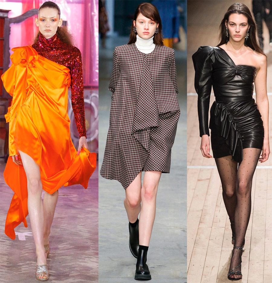 Robes asymétriques