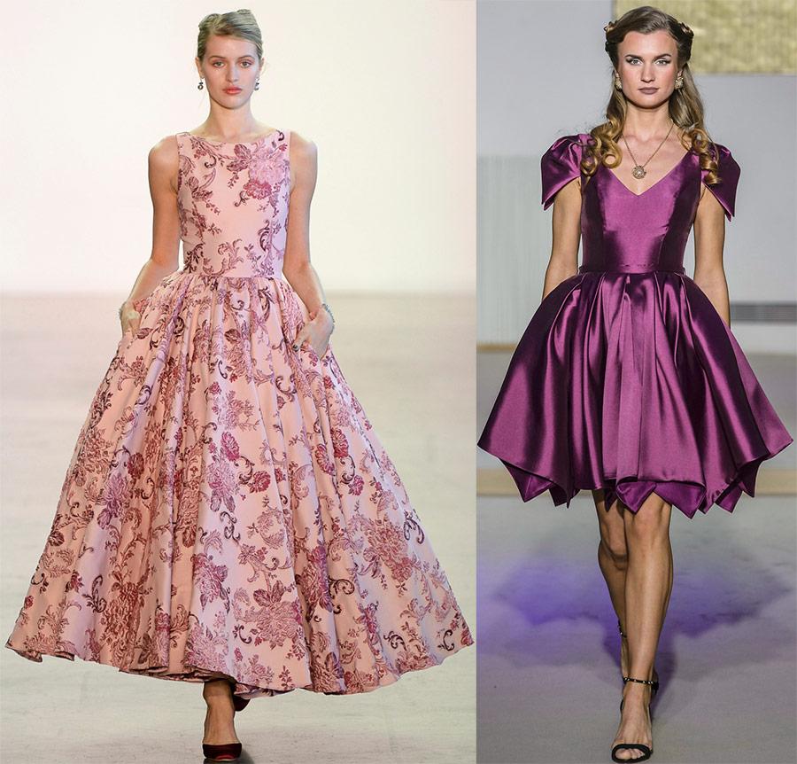 Belle robe bouffante