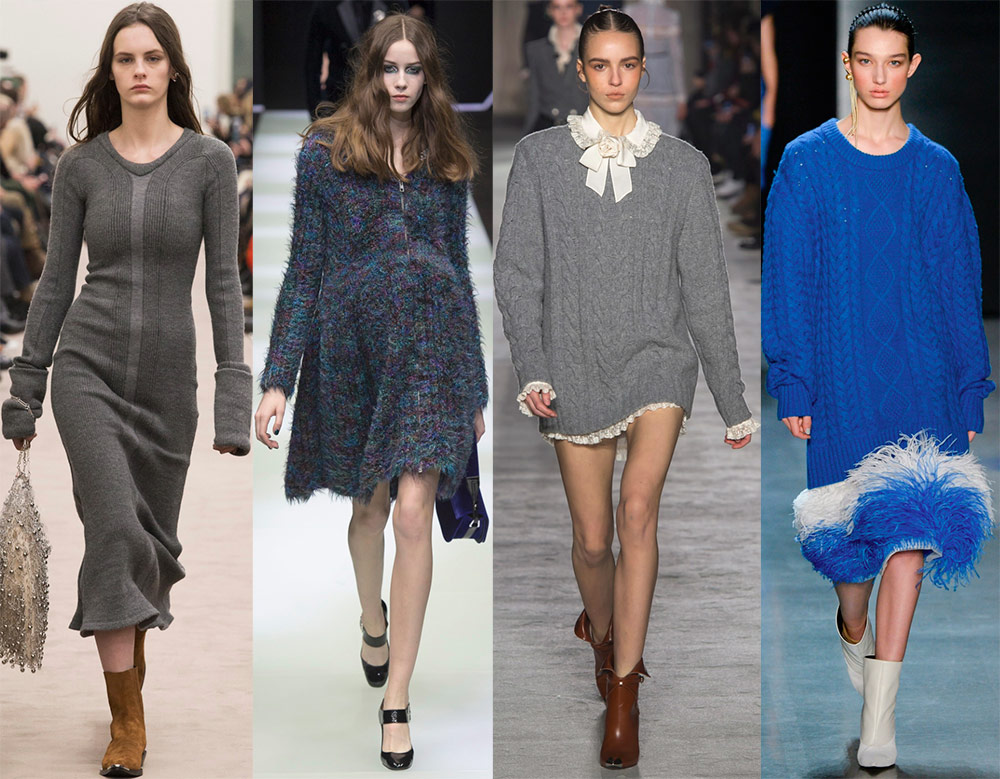 Robes tricotées