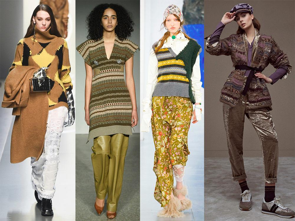 Женская вязаная одежда