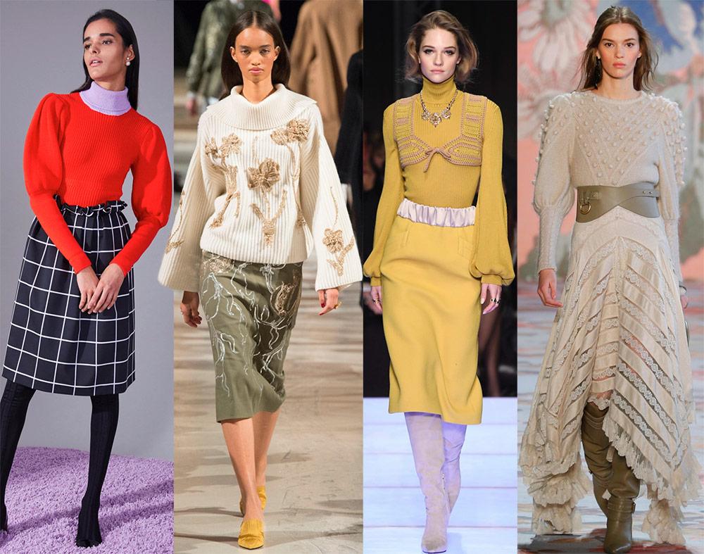 Модные женские джемперы – 2019 новые фото