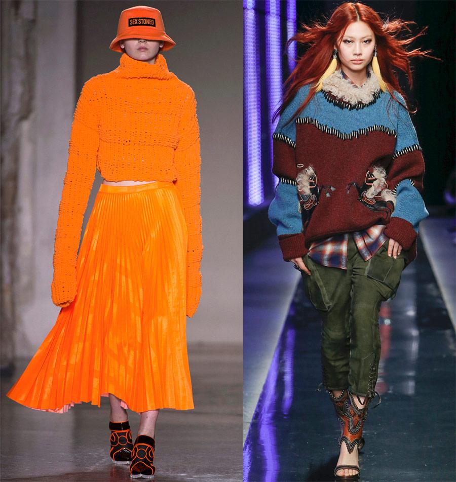 Какие свитера будут модными в 2018-2019 году