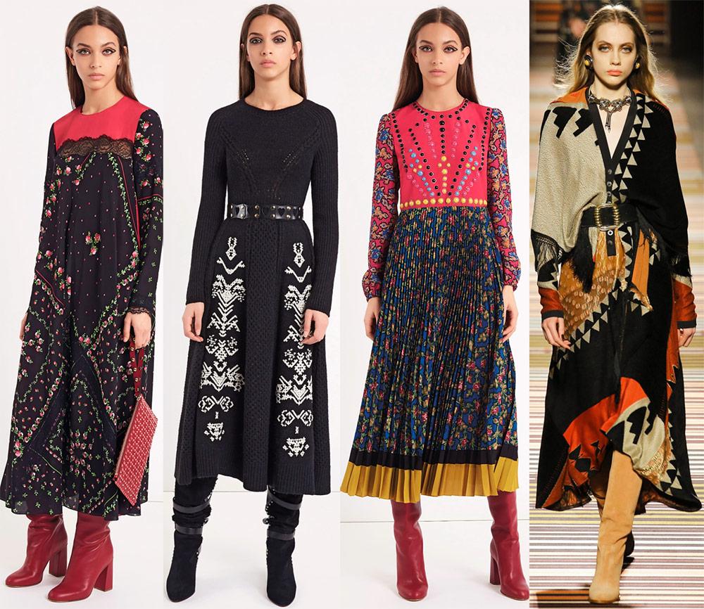 Модные благопристойные платья