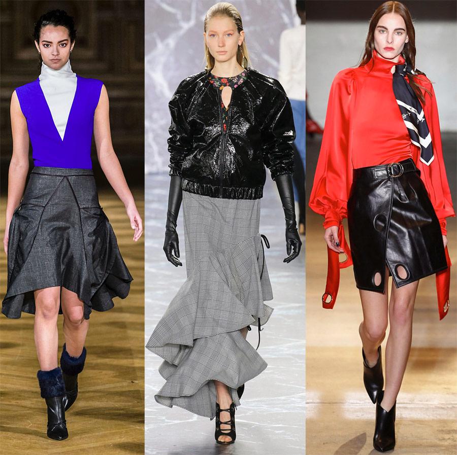 Trendy nederdele 2018-2019 af året